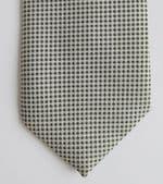 Jonelle tie black and white check John Lewis machine washable smart mens wear